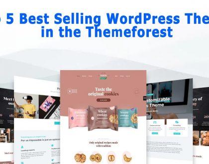 Top 5 Best Selling WordPress Themes in the ThemeForest 2021 | Break Tutorials