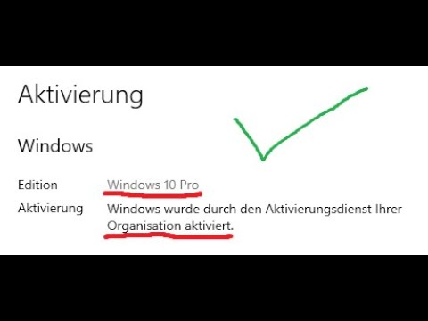 Windows 10 kostenlos mit CMD.exe auf Vollversion aktivieren | alle Windows 10 Versionen