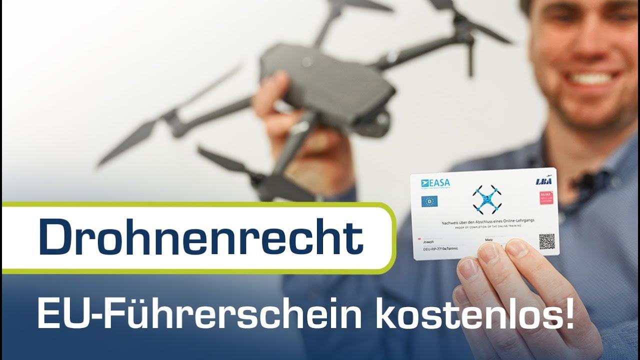A1/A3 Kompetenznachweis (Drohnenführerschein) kostenlos machen - Schritt für Schritt erklärt!