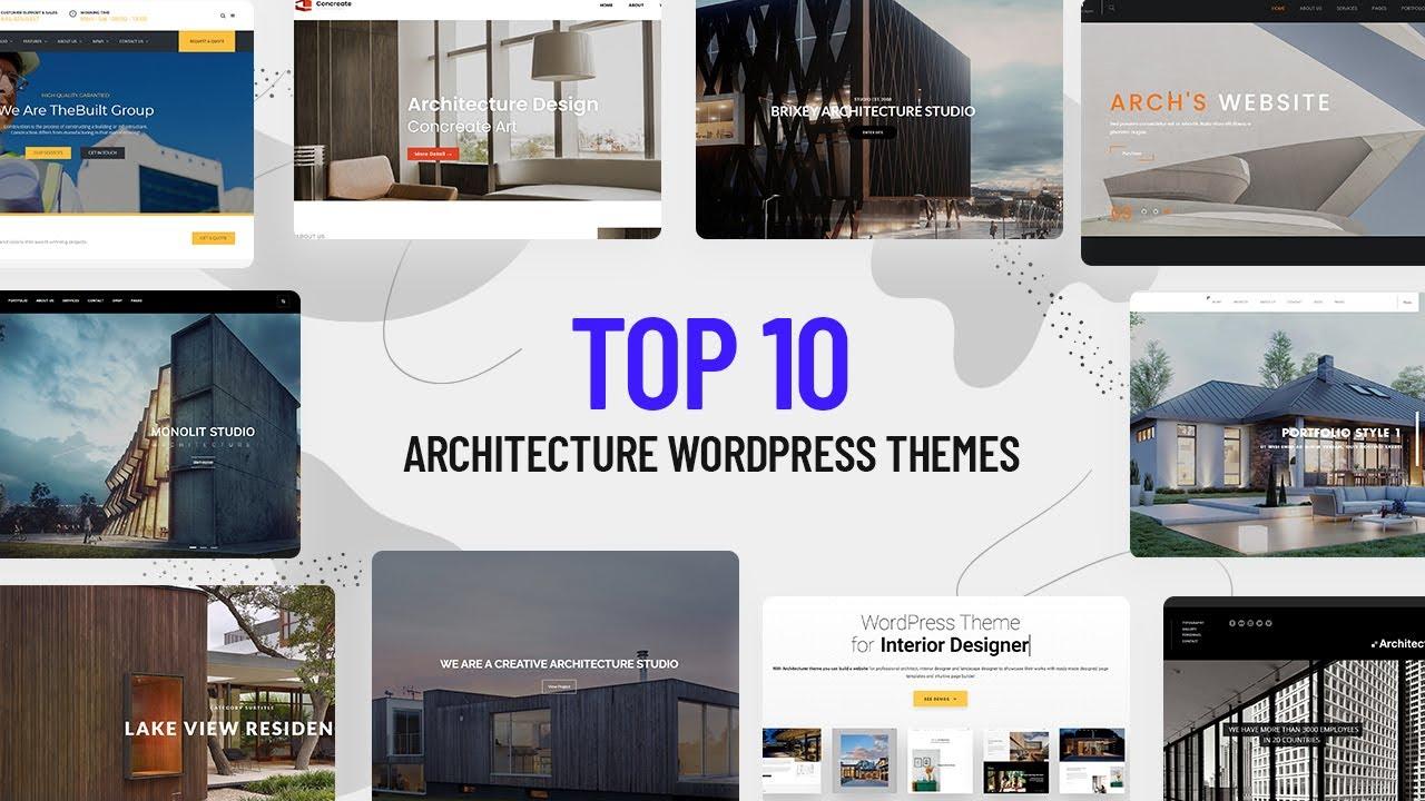 Best Architecture WordPress Themes 2021
