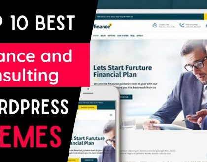 Best Financial WordPress Themes of 2021  | Top 10 Themes for Finance Adviser's Website