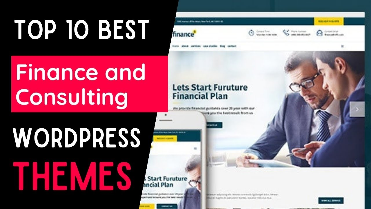 Best Financial WordPress Themes of 2021    Top 10 Themes for Finance Adviser's Website