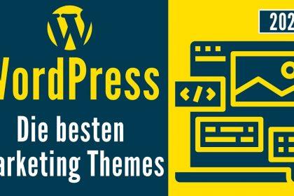 Die besten Marketing Themes für WordPress