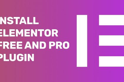 Elementor Tutorial | How to Install Elementor Free and Pro Plugin for WordPress Website