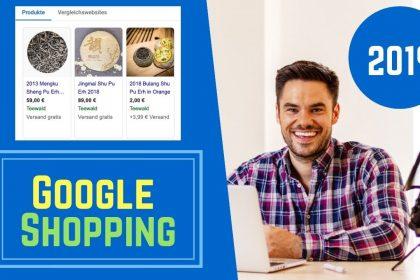 Google Shopping Kampagne erstellen 2021 alle Schritte mit Feed im neuen Google Ads Design