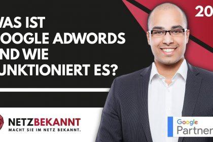 #GoogleAdWordsTutorial ᐅ Was sind Google Ads? Wie funktionieren Google Ads? ☞ Grundlagen & Erklärung