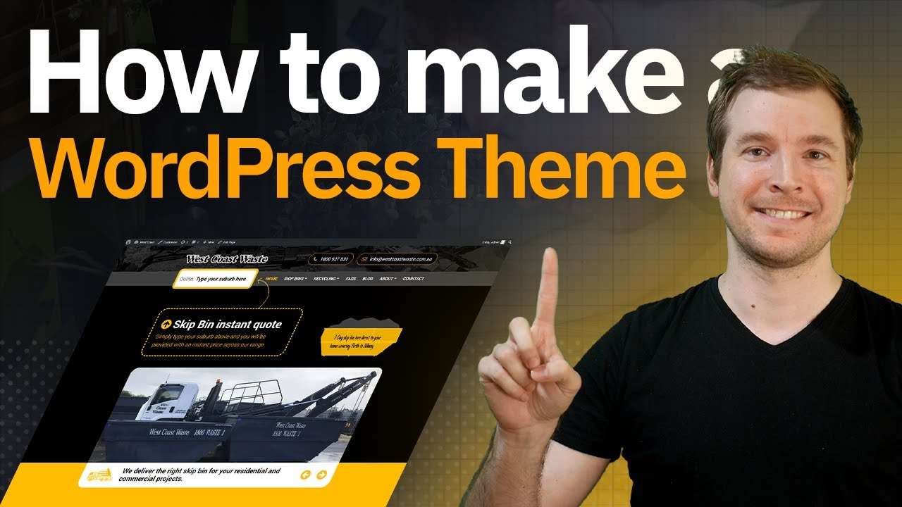 How to make a custom WordPress theme from scratch
