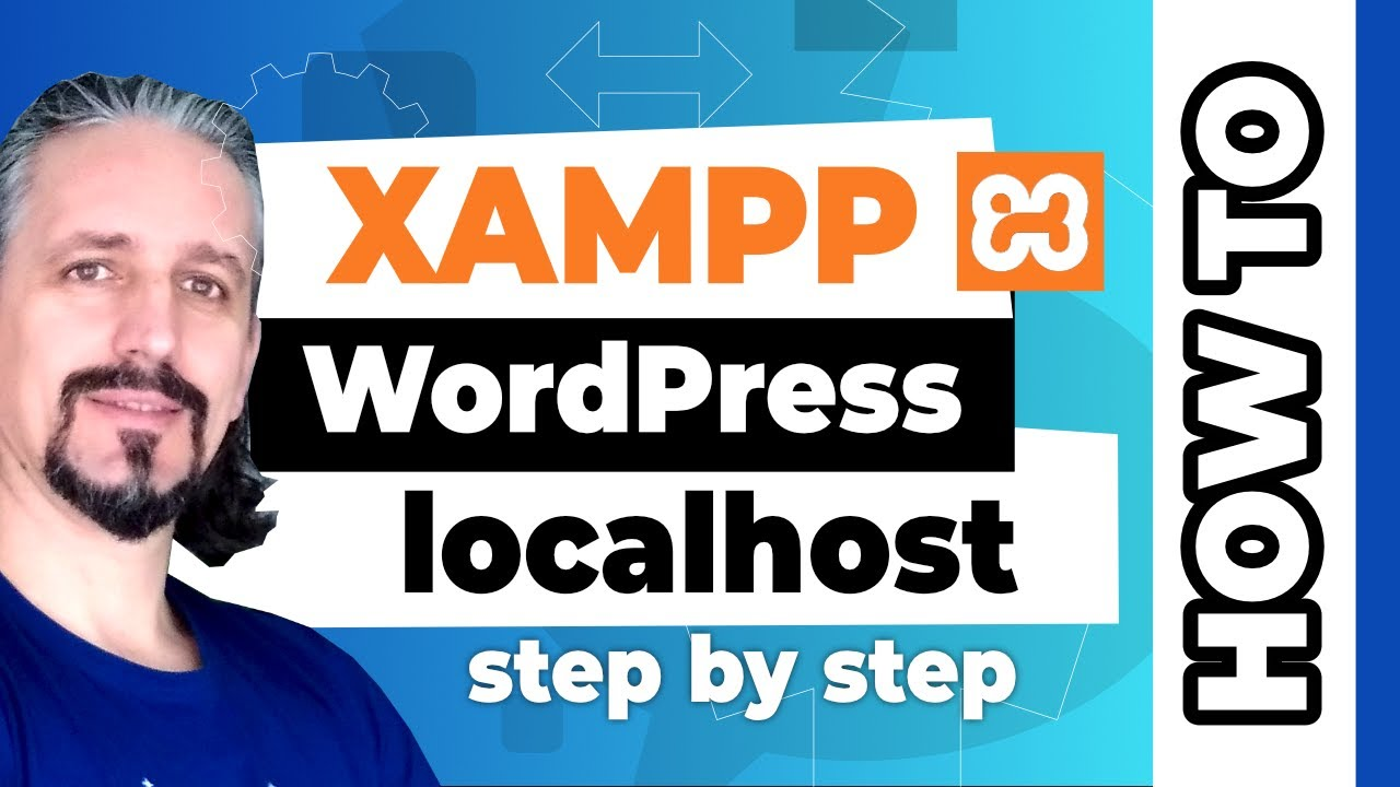 How to use XAMPP for a local WordPress website STEP BY STEP in 2020