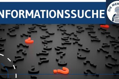 Informationssuche von Konsumenten - Informationsökonomie & Einflussfaktoren erklärt - Marketing