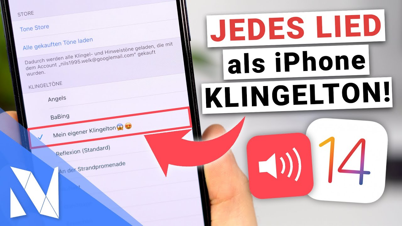 JEDES Lied als iPhone Klingelton verwenden - Kostenlos mit iOS 14! (2021) | Nils-Hendrik Welk