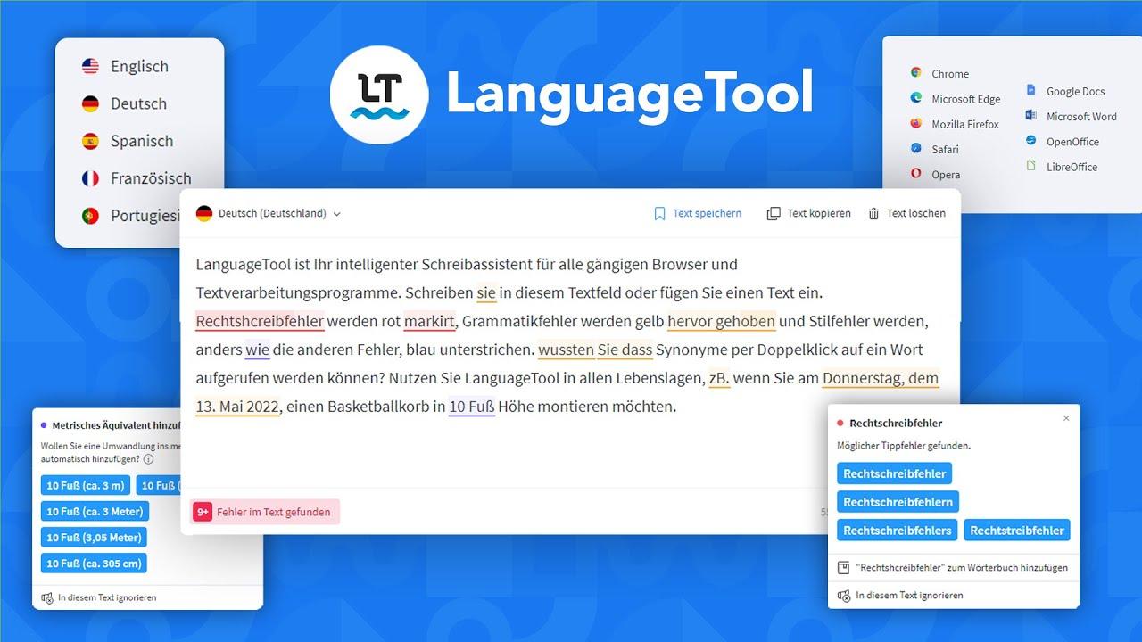 LanguageTool (Tutorial) Einfach kostenlos Texte auf Rechtschreibung & Grammatik überprüfen