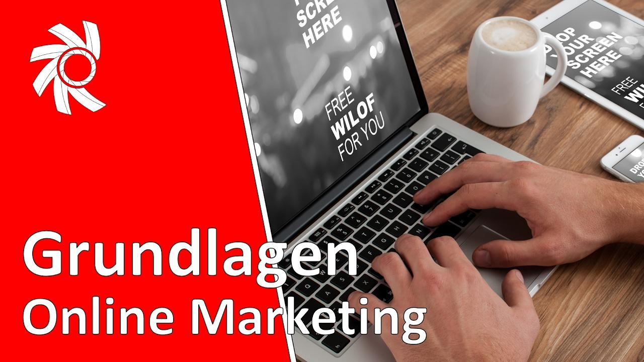 Online Marketing Grundlagen in 8 Minuten
