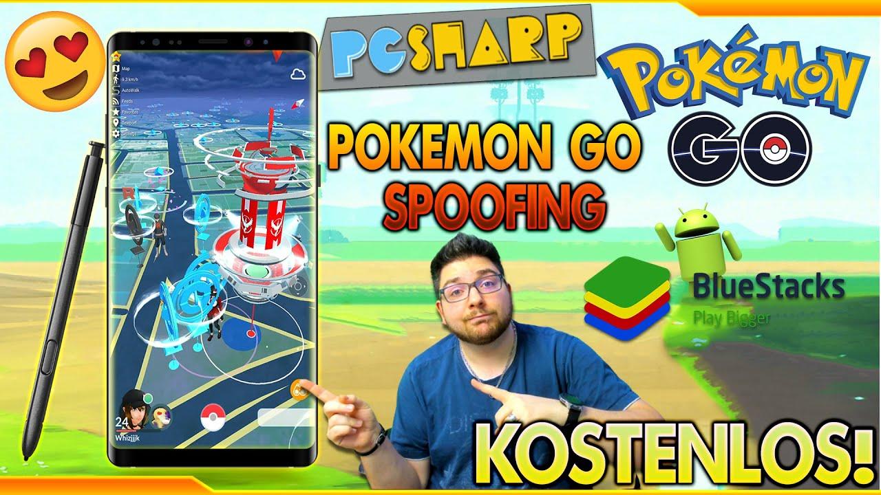 POKÉMON GO SPOOFING | KOSTENLOS SPOOFEN mit PGSHarp & BlueStacks | PC & Android Guide (2021)