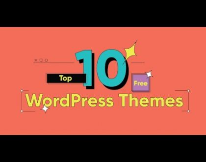Top 10 BEST FREE WordPress Themes For 2021   Best Professional & Responsive WordPress Themes