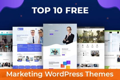 Top 10 Free Marketing WordPress Themes 2020 | Best WordPress Themes For Your Online Business