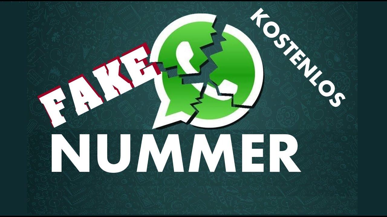 WhatsApp Fakenummer kostenlos selber erstellen!