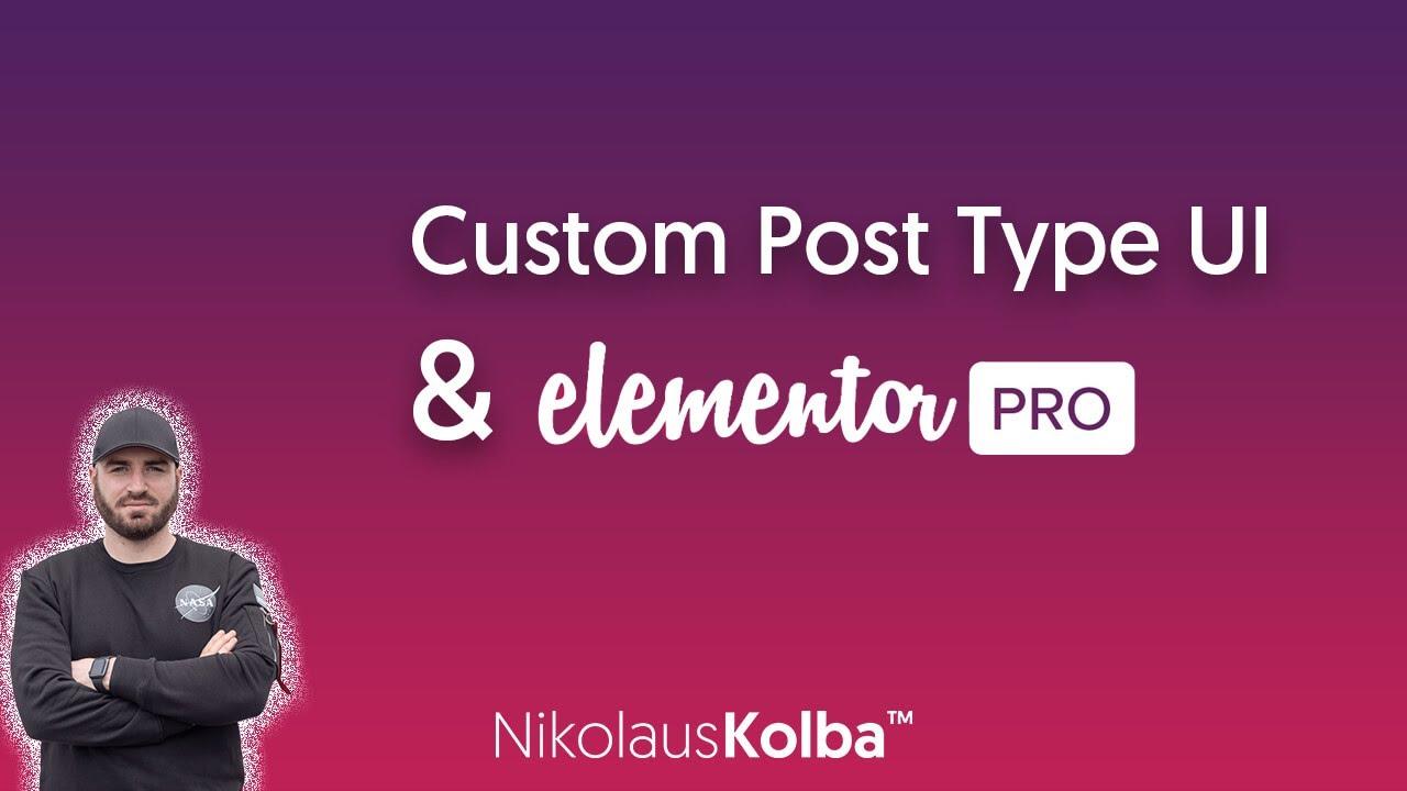 WordPress Custom Post Type erstellen & mit Elementor Pro stylen - Tutorial