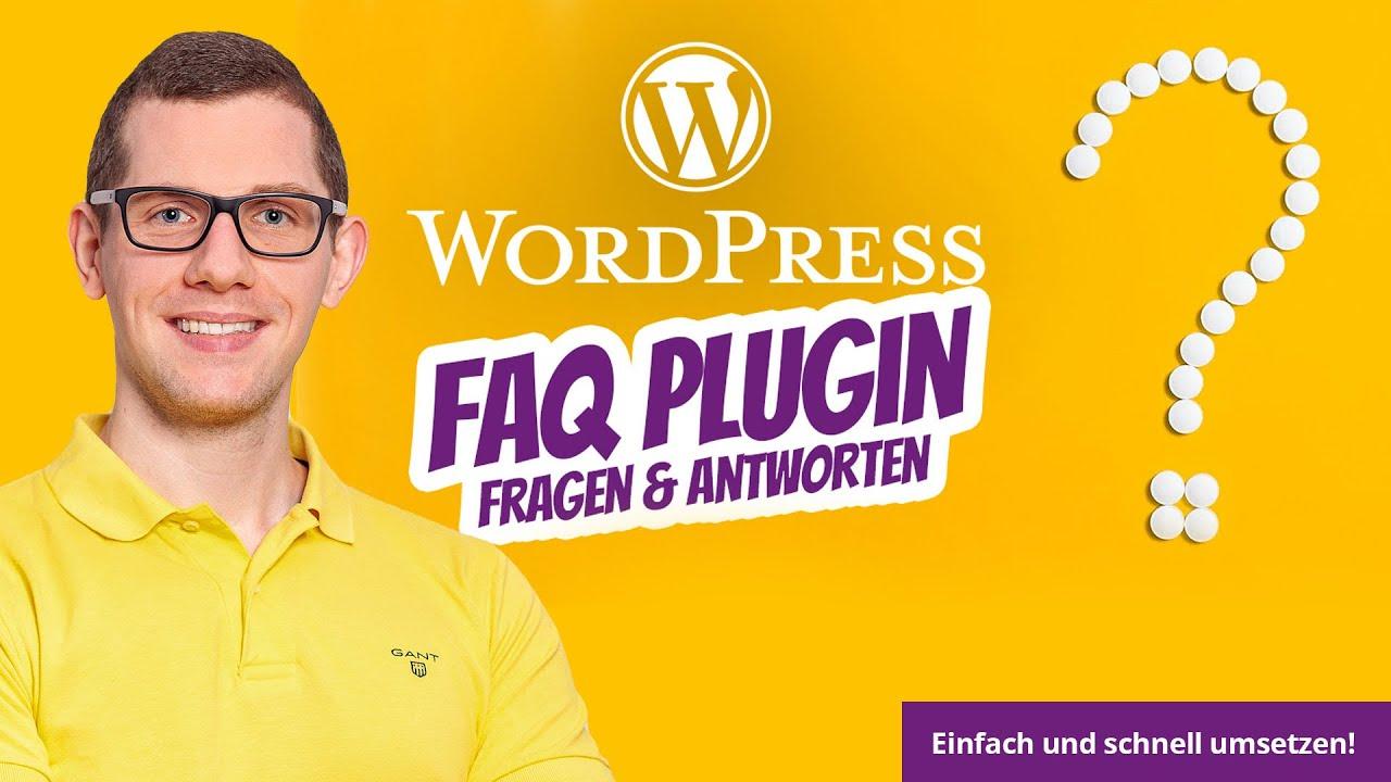 WordPress FAQ Plugin (wie es richtig geht!) – Fragen & Antworten als Wissensdatenbank Helpdesk Wiki