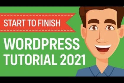 WordPress Tutorial for Beginners 2021