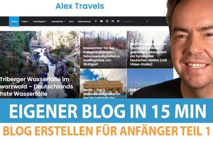 Wordpress Blog erstellen: Anleitung   Blog erstellen für Anfänger Teil 1