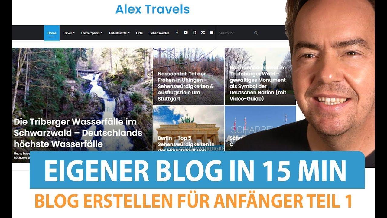 Wordpress Blog erstellen: Anleitung | Blog erstellen für Anfänger Teil 1