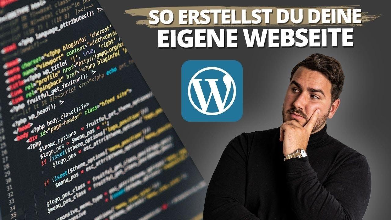 Wordpress Webseite erstellen Tutorial -  2021 Webseite für Agentur in 60min erstellen!