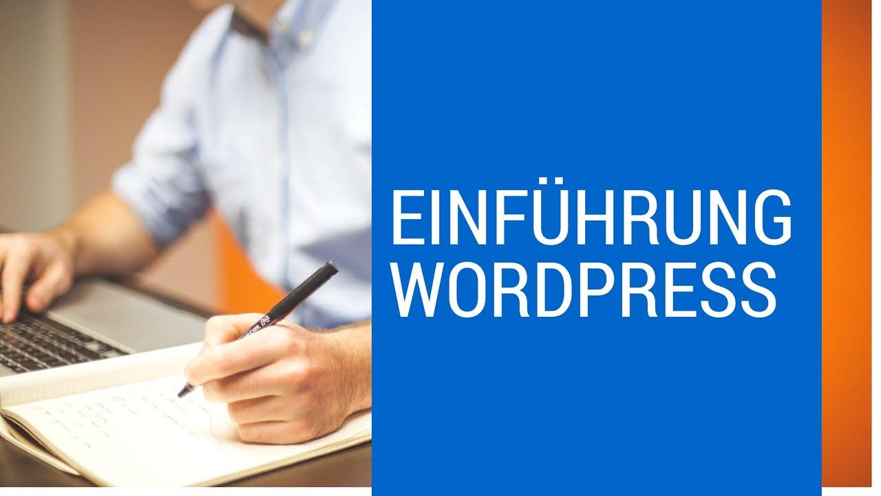 Wordpress für Anfänger Einführung - Grundlagen/erste Schritte Teil 1 (German I Deutsch)
