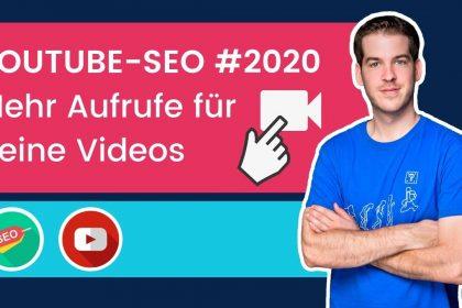 YouTube Suchmaschinenoptimierung - YouTube SEO [2020]: So rankst du Videos auf YouTube & Google