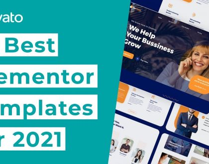 10 Best Elementor Templates [2021]