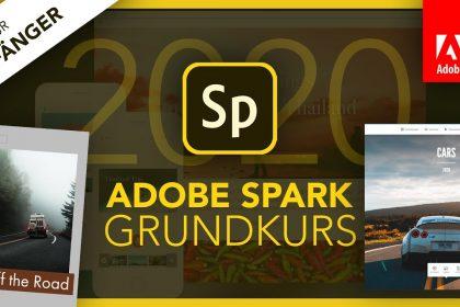 Adobe Spark 2020 (Grundkurs für Anfänger) Deutsch (Tutorial)