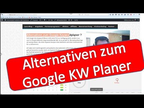 Alternativen zum Google Keyword Planer   Lars Pilawski