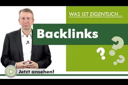 BACKLINKS - Was ist eigentlich?