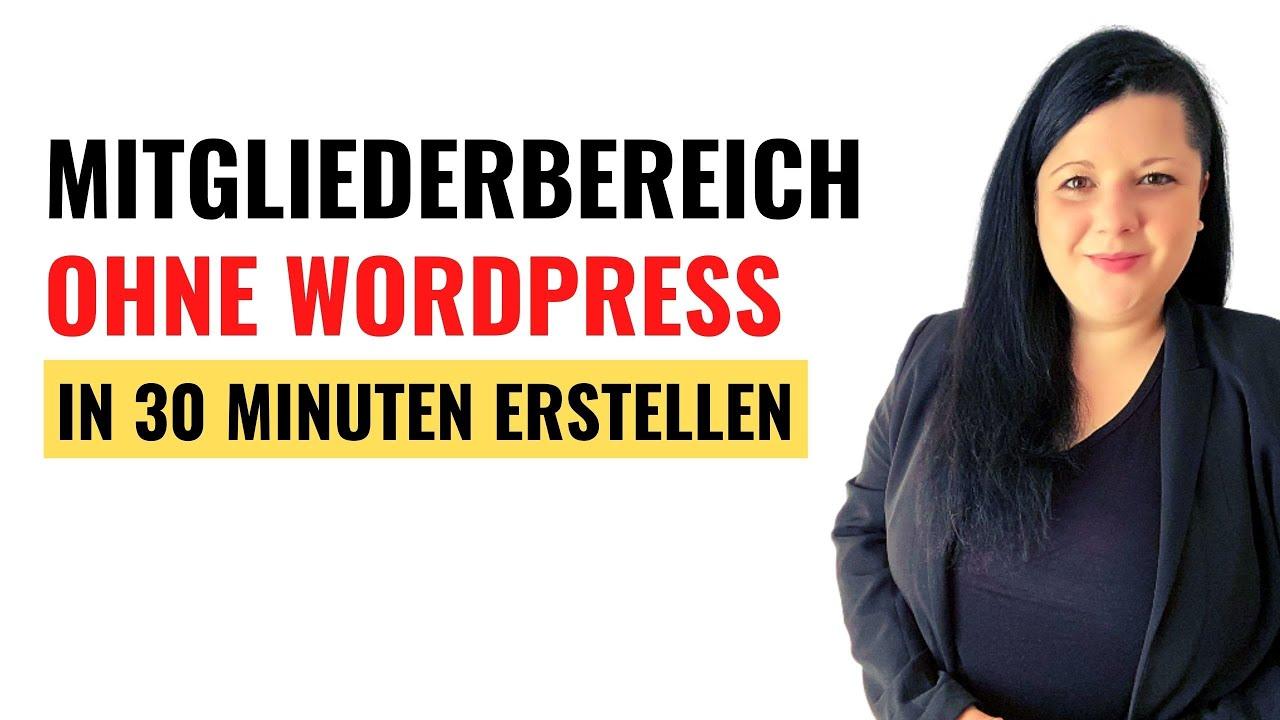 Builderall 4.0 - Mitgliederbereich in 30 Minuten OHNE Wordpress erstellen - Builderall 2020
