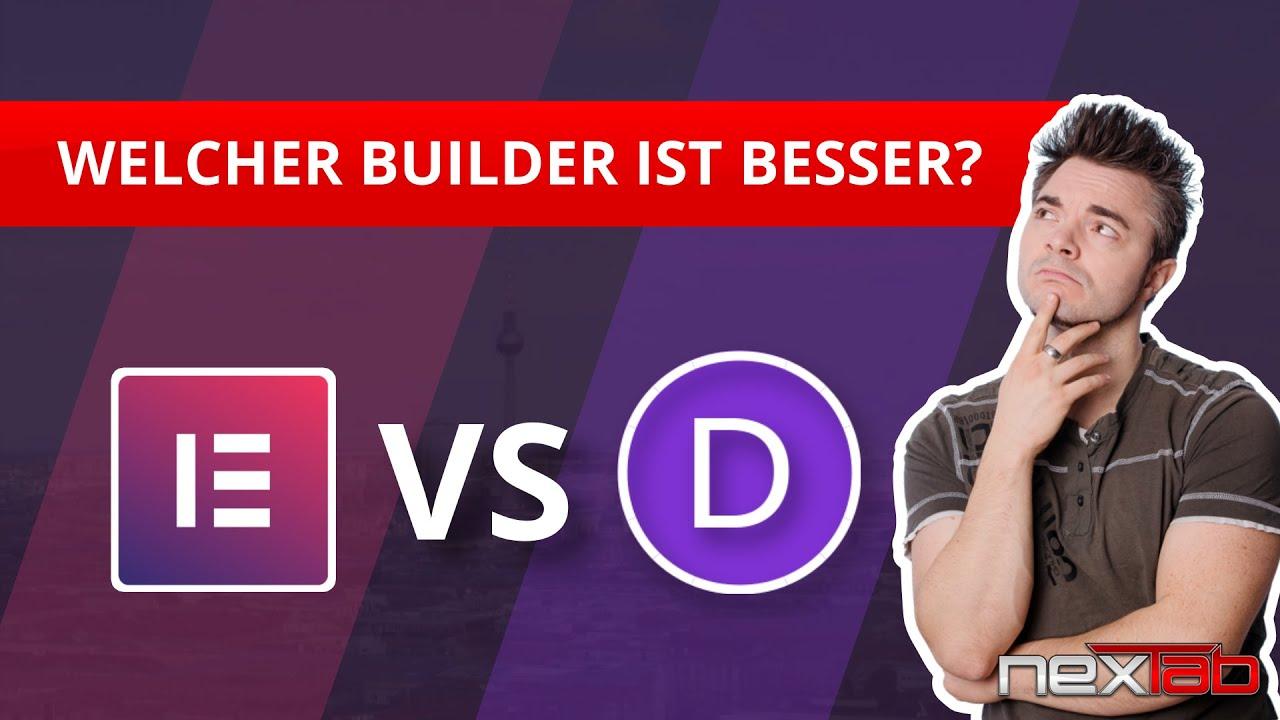 Elementor Pro vs. Divi - Der ULTIMATIVE VERGLEICH der beliebtesten WordPress Page Builder!