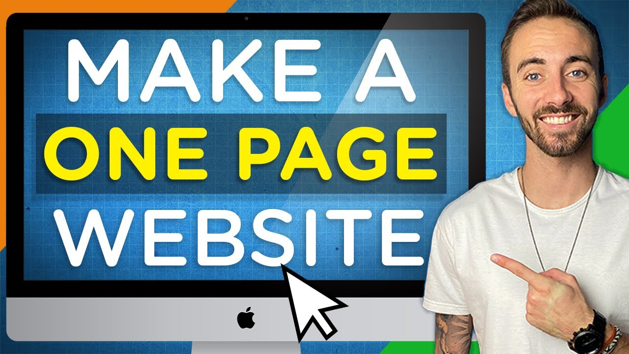 How To Create A One-Page Website (In WordPress) | 2020