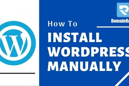 How To Install WordPress Manually Using cPanel : 2020