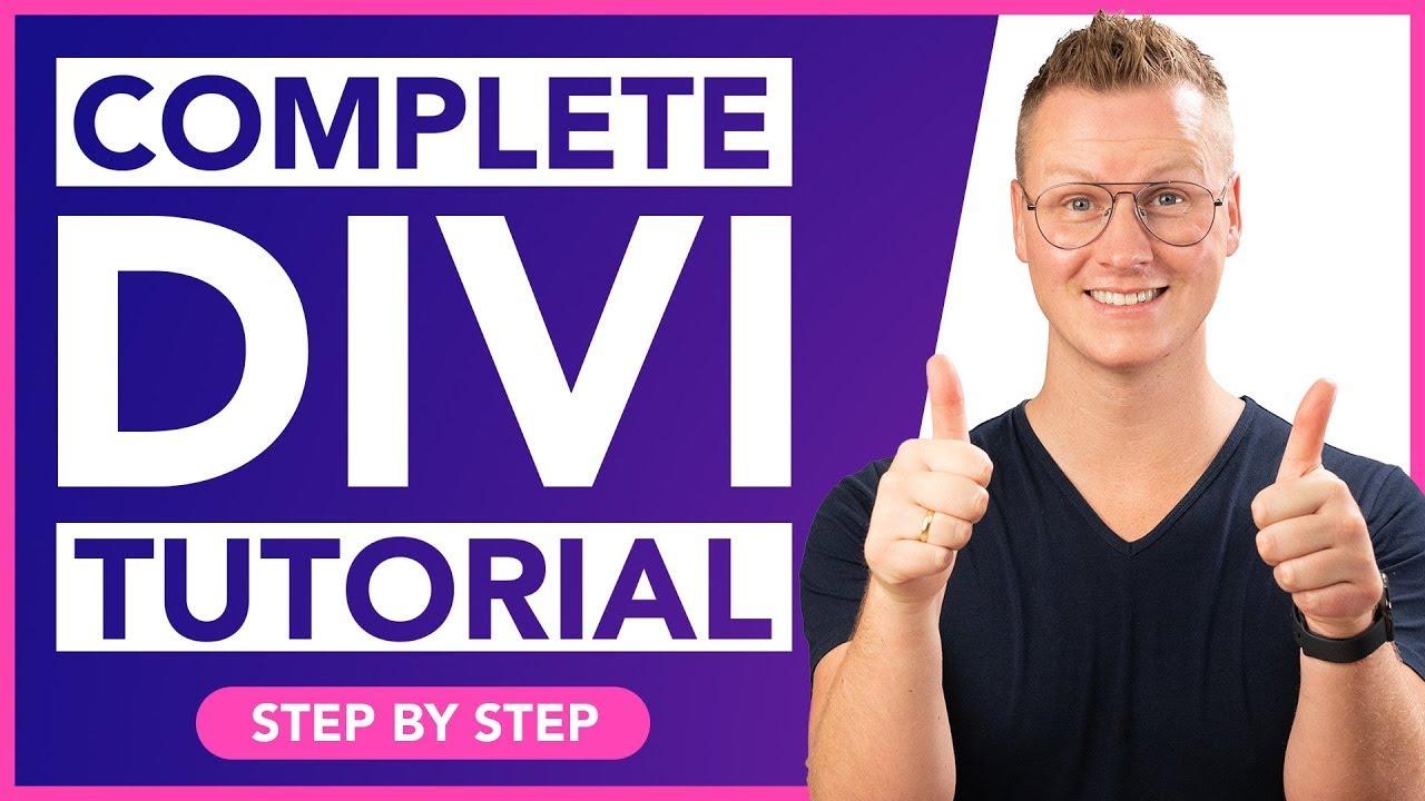 How To Make A WordPress Website | Divi Theme Tutorial