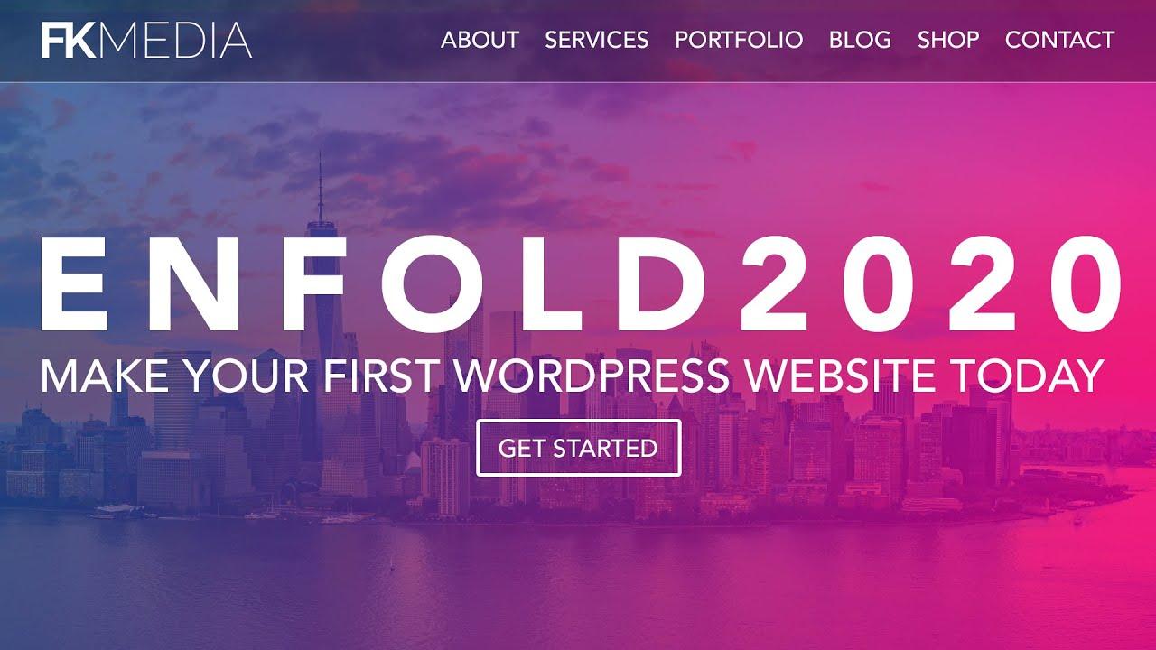 How To Make A Wordpress Website 2020 | Enfold Theme Tutorial