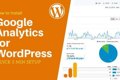 How to Install Google Analytics for WordPress - Quick & Easy Tutorial 2020!