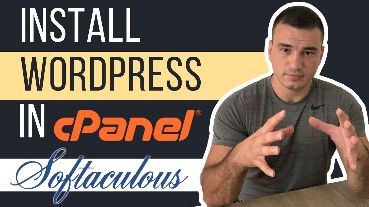 How to Install WordPress in cPanel using Softaculous | cPanel WordPress Tutorial