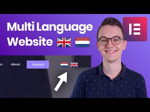 How to make your Elementor website Multi Language - Polylang for Elementor