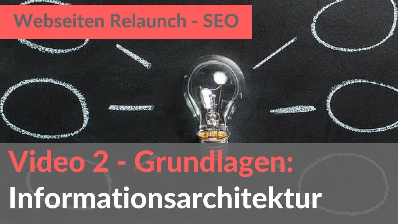 Informationsarchitektur Grundlagen (Webseiten Relaunch 3)