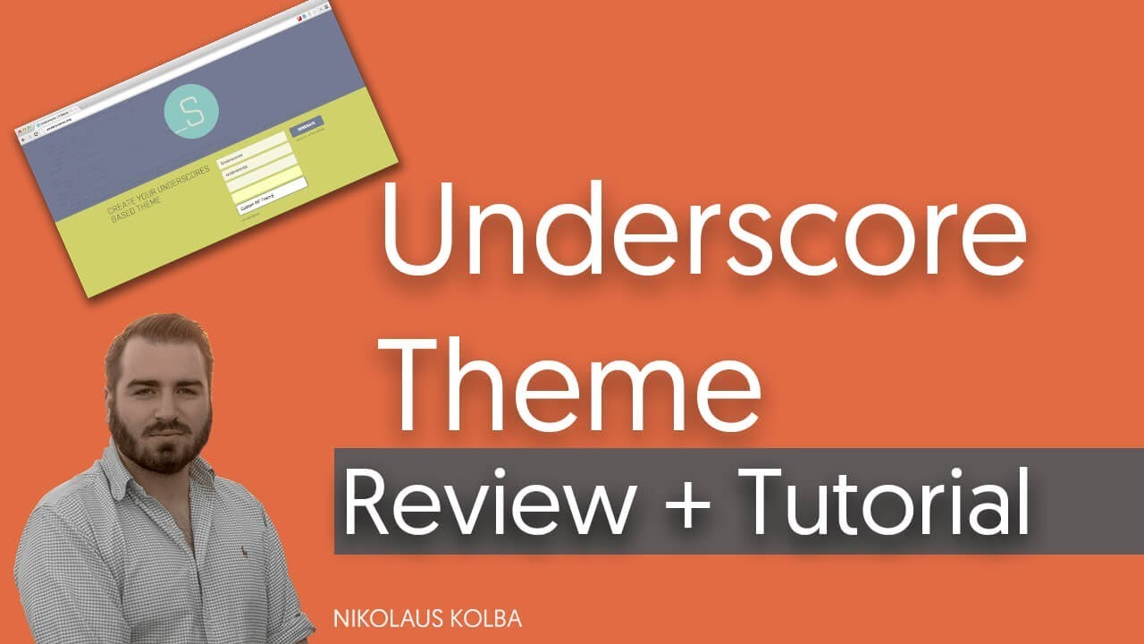 Leeres WordPress Theme... das Underscore.me Theme - Review