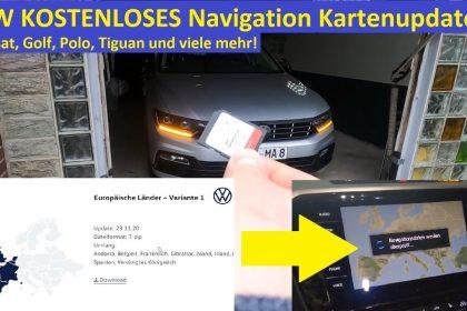 Neueste 2020 VW Navi Karten KOSTENLOS aufspielen | Discover Media/ Pro MQB | Kartenupdate Tutorial