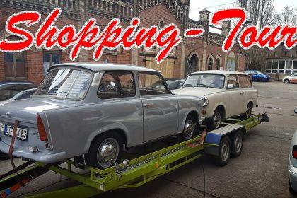 Ostblock MV | Trabant Shopping Tour - Wir holen neue Fahrzeuge! | VLOG #13