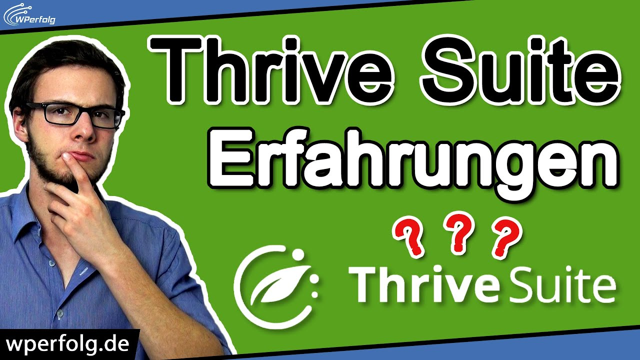 THRIVE SUITE Review (2021): Beste All-In-One Toolbox für WordPress? | Thrive Themes Test | Erfahrung