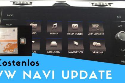 VW Navi Update 2021 | Kostenlos | Anleitung mit SD Karte für Discover Media & Pro