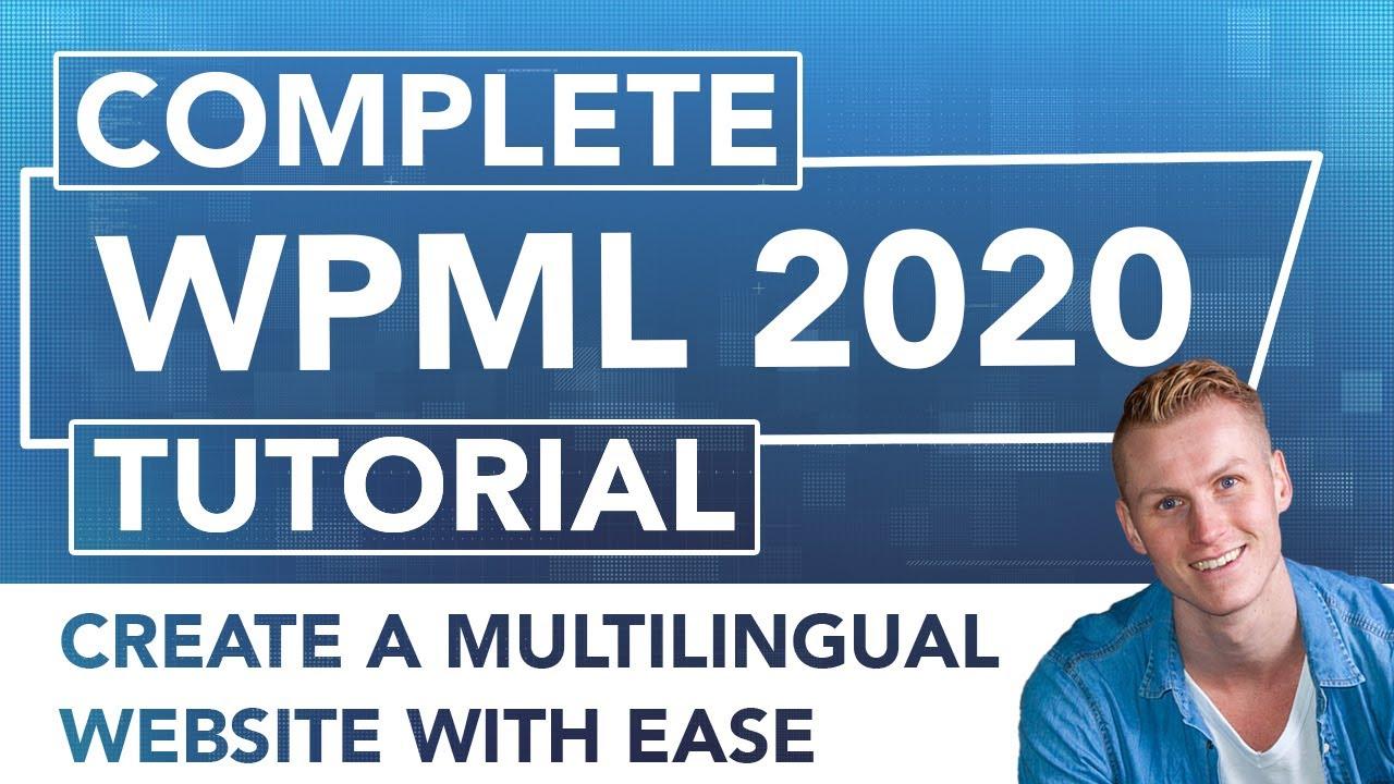 WPML Tutorial   Make Your Wordpress Website Multilingual