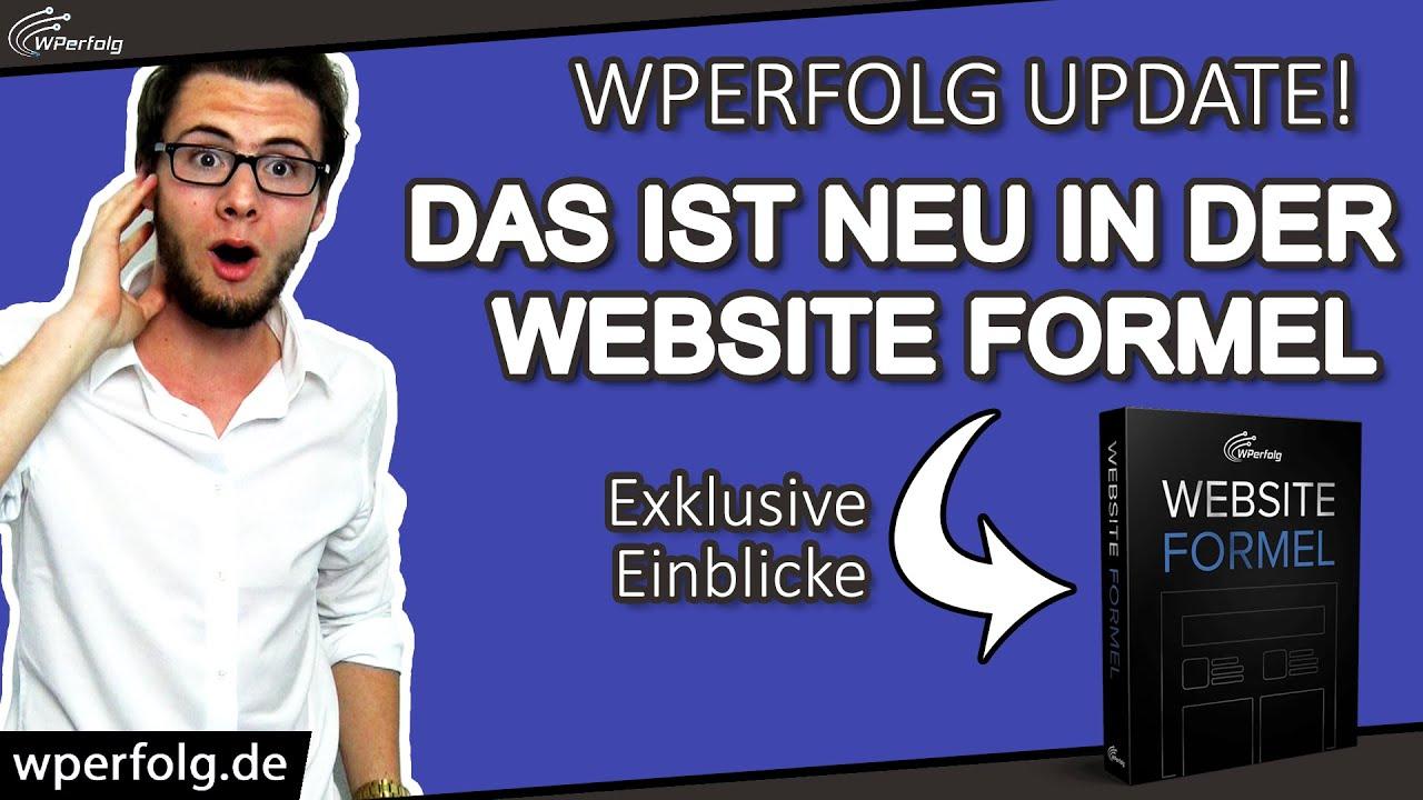 """WordPress Kurs """"Website Formel"""": UPDATE AUGUST 2020 [Plus: Exklusive Einblicke]   Deutsch HD"""