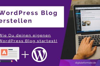 Wordpress Blog Tutorial 2021: Schritt-für-Schritt Anleitung (mit SEO)
